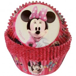 Minnie Mouse Baking Cups Patty Pans (50)