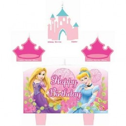 Disney Fanciful Princess Birthday Candles (Set of 4)