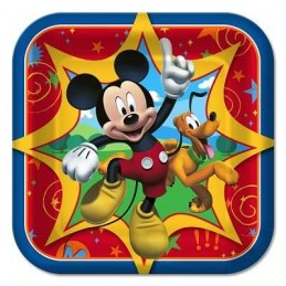 Mickey Mouse & Friends Small Plates (Pack of 8)