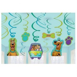 Scooby Doo Swirl Decorations (12)