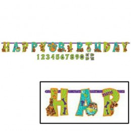 Scooby Doo Birthday Banner Kit