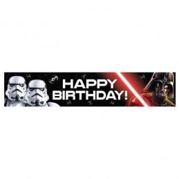 Star Wars Classic Happy Birthday Banner