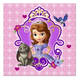 Sofia the First Small Napkins (Pack of 16)