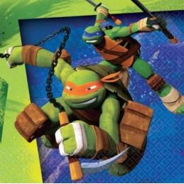 Teenage Mutant Ninja Turtles Small Napkins (Pack of 16)