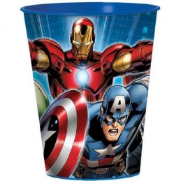 Avengers Large Plastic Cup (Front)