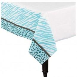 Sweet Safari Boy Paper Tablecloth
