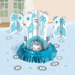 Wild Safari Blue Table Decorating Kit