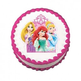 Disney Princess Cake Image Decoration