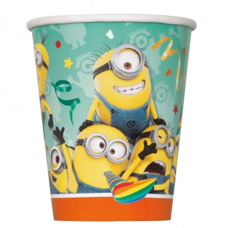 Despicable Me Minions Cups (Pack of 8)