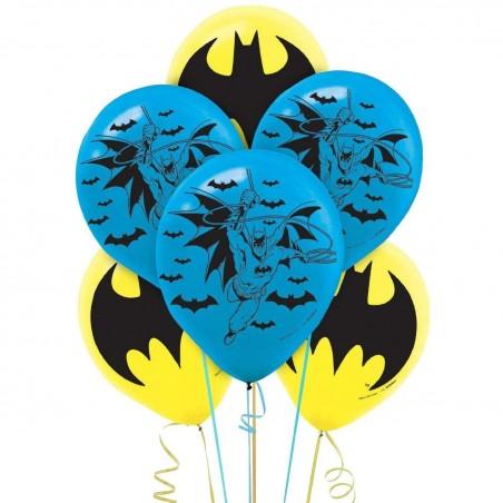 Batman Balloons (Pack of 6)