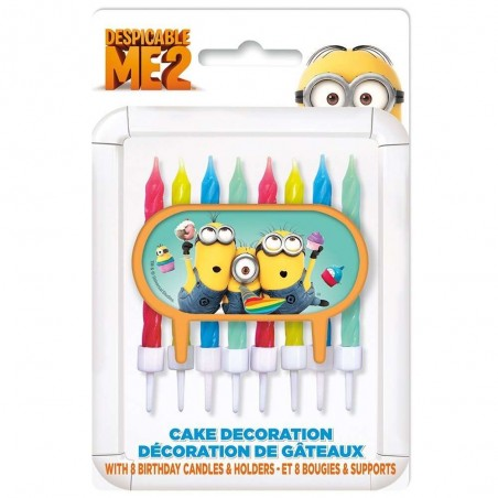 Despicable Me Minions Birthday Candles (9)