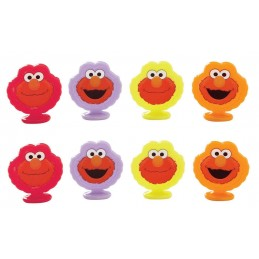 Elmo Plastic Cupcake Toppers (8)