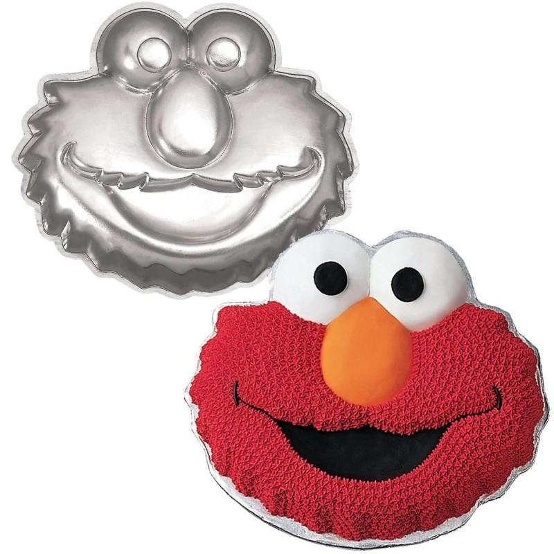 Boys & Girls Birthdays > Elmo > Wilton Elmo Cake Tin