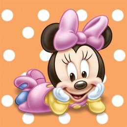 Minnie Mouse 1st Birthday Small Napkins (16)
