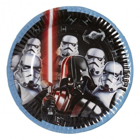 Star Wars Classic Large Plates (Pack of 8)