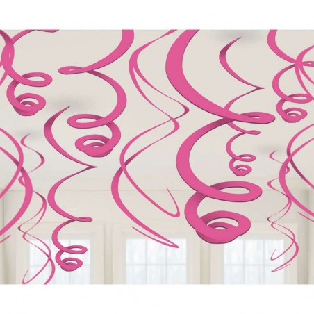 Pink Swirl Decorations (12)