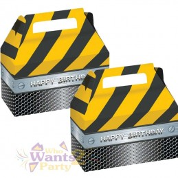Construction Zone Treat Boxes (Pack of 2)