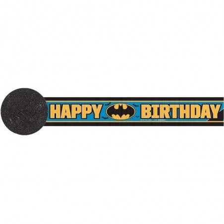 Batman Crepe Streamer
