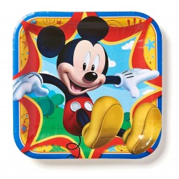 Mickey Mouse & Friends Large Plates (Pack of 8)