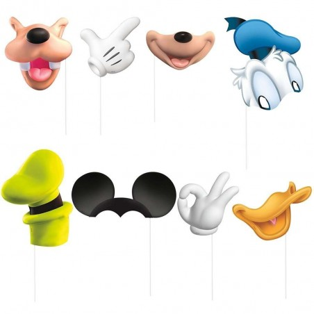 Mickey Mouse Photo Prop Kit (Pack of 8)