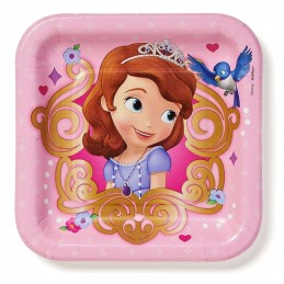 Sofia the First Small Plates (Pack of 8)