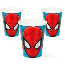 Ultimate Spiderman Paper Cups (Pack of 8)
