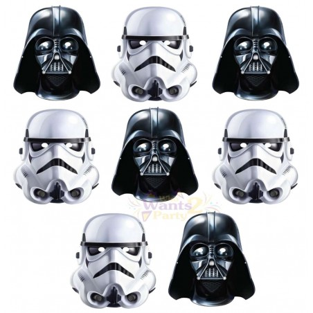 Star Wars Classic Masks (Pack of 8)