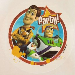 Toy Story Cake Image Decoration