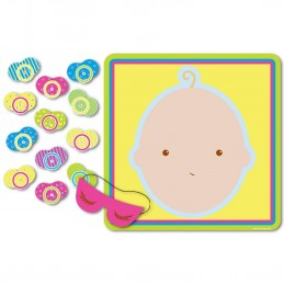 Baby Shower Pin the Dummy Pacifier Game