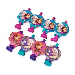 Frozen Party Blowers (Pack of 8)
