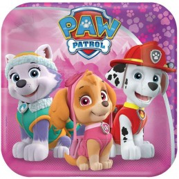 Paw Patrol Girl Small Plates (8)