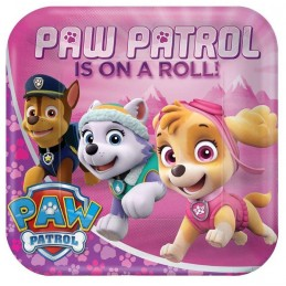 Paw Patrol Girl Large Plates (8)