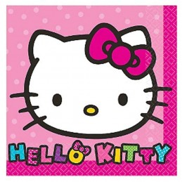 Hello Kitty Rainbow Small Paper Napkins (Pack of 16)