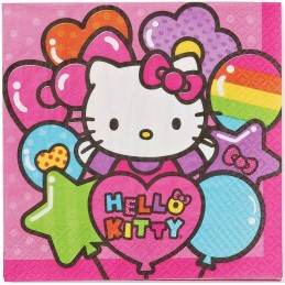 Hello Kitty Rainbow Large Paper Napkins (Pack of 16)
