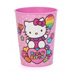Hello Kitty Rainbow Large Plastic Cup