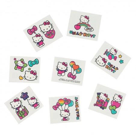 Hello Kitty Rainbow Tattoos (One Sheet)