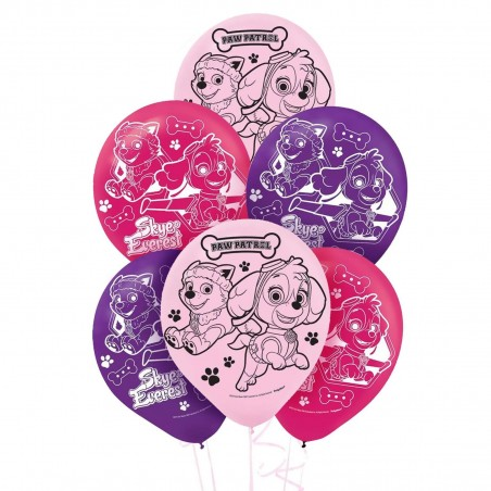 Paw Patrol Girl Balloons (6)