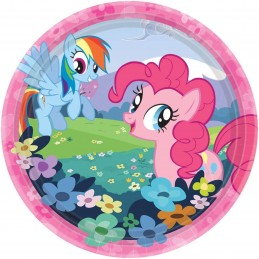 My Little Pony Small Paper Plates (Pack of 8)