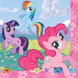 My Little Pony Large Paper Napkins (Pack of 16)