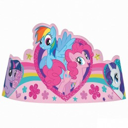 My Little Pony Tiaras (Pack of 8)