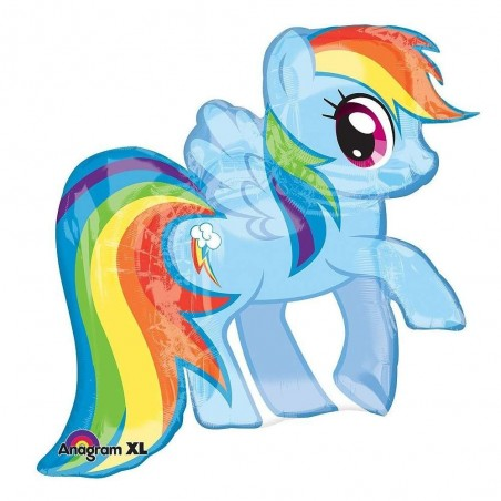 My Little Pony Rainbow Dash Supershape Helium Balloon