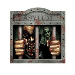 Halloween Asylum Cutout