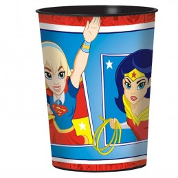 DC Super Hero Girls Large Plastic Cup