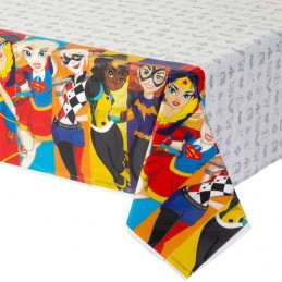 DC Super Hero Girls Plastic Tablecloth