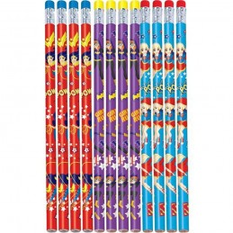 DC Super Hero Girls Pencils (Pack of 12)