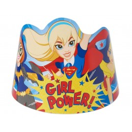 DC Super Hero Girls Party Tiaras (Pack of 8)
