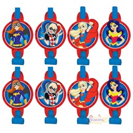 DC Super Hero Girls Party Blowers (Pack of 8)