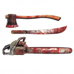 Bloody Weapons Cutout Decorations (Set of 3)