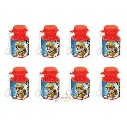 Paw Patrol Mini Bubble Bottles (Pack of 8)