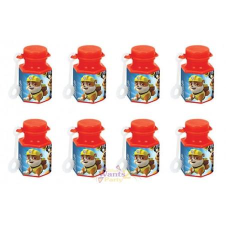 Paw Patrol Mini Bubble Bottles (Pack of 8)